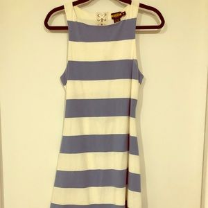 Preppy Flared Rugby Dress